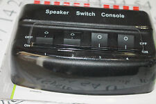 128-562 AV:Link (Skytronic) 4 way speaker switch box / selector-Stero-50w-8 Ohms