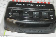 128-562 AV:Link (Skytronic) 4 way speaker switch box / selector-Stero-50w-8 Ohms