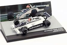 N. Piquet Brabham BT49C #5 World Champion Deutschland GP Formel 1 1981 1:43 Alta