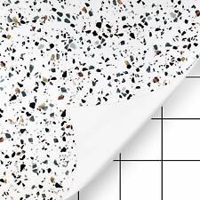 KINLO Küchenfolie Tapete Tischfolie MöbelfolieFliesenfolie für Küche Bad Möbel