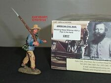 KING AND COUNTRY CW17 REBEL MARCHING WITH PIPE IN HAND METAL TOY SOLDIER FIGURE