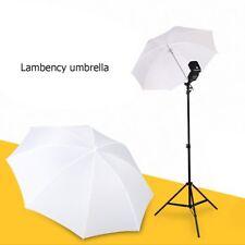 """33""""/83cm Fotos Video Studio Flash Blitz Licht Regenschirm Translucent Weiß Q9"""