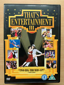 That's Entertainment 3 DVD MGM Musical Celebration Film Moovie with Gene Kelly