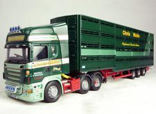 Corgi Modern Truck Heavy Haulage CC13715 Scania Livestock Chris Waite 1/50