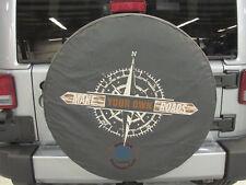 """Jeep Wrangler 31"""" Compass Spare Tire Cover NEW OEM MOPAR"""