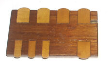 Antique Pall Mall Wooden Whist Marker