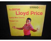 Lloyd Price vinyl LP~The Exciting Lloyd Price~Original 1959 STEREO Pressing