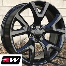 "18"" inch RW Wheels for Jeep Cherokee 18x7.5"" Gloss Black Rims 5x110 Trailhawk"