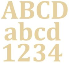 Letras extra grande de 28 cm X 12 Mm-Placa De Mdf, Decoración del Hogar-Mdf-Cambria