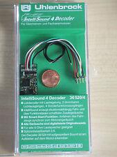 Uhlenbrock 36520 h0 Sound 4 Lokdecoder mot DCC 8-pol. Câble + désir Sound (36320)