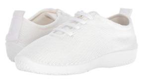 """Arcopedico LS White """"Shocks"""" Lace-Up Shoe Flat Women's sizes 36-42/5-11 NEW!!!"""