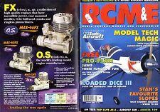 RADIO CONTROL MODELS & ELECTRONICS MAGAZINE 1999 AUG JAWS IV FREE PRO PLAN