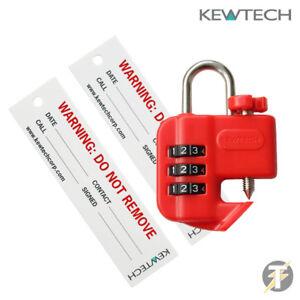 Kewtech MCB Schutzschalter Sicher Isolation Kombination Schloss Aus Gerät Kewlok