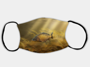 Common Carp Adjustable Face Mask with 2 x PM2.5 Filters