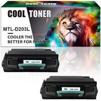 2 Pack Toner for Samsung 203L MLT-D203L M3320ND M3870FW M3820DW SL-M4020ND