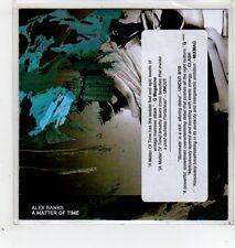 (GD203) Alex Banks, A Matter Of Time - 2014 DJ CD