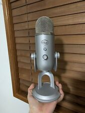 Blue Yeti Microphone Silver - Blue Microphones Condenser Microphone - Used