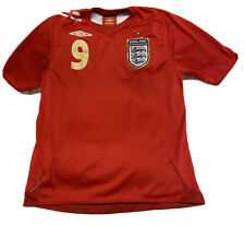 Authentic Umbro Wayne Rooney England Red Soccer Football Jersey Mens Size Medium