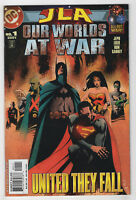 JLA: Our Worlds at War #1 (Sep 2001, DC) Jeph Loeb, Ron Garney, Jae Lee Dm-