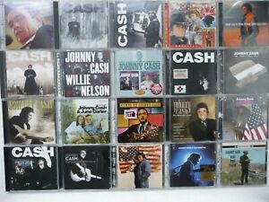 Johnny Cash 20 x CD's Sammlung inkl. American Recordings