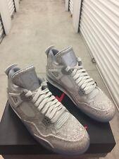 Nike Air Jordan 4 Retro Laser Anniversary Mens  Size 10 New In Box 705333 105