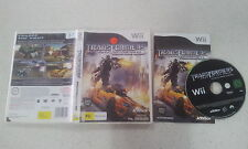 Transformers: Dark of the Moon Stealth Force Edition Nintendo Wii PAL Version