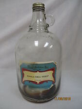 1950S LEOLA COLA SODA FOUNTAIN  SYRUP JUG/BOTTLE FLAVOUR INDUSTRIES CHICAGO IL
