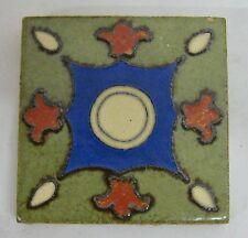 Flint Faience Geometric Tile Vintage