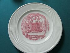 Wedgwood Beaver College Grey Towers The Gate House Collector Plate