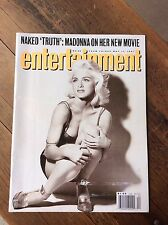 Vintage Entertainment Weekly Magazine with Madonna - Issue 66 From May 17, 1991