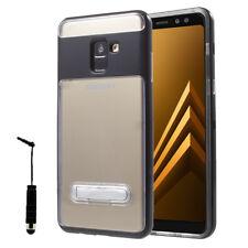 Etui TPU contour Polycarbonate Metal Kickstand Samsung Galaxy A8 (2018) A530F