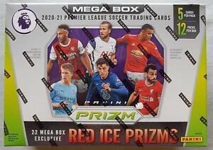 Panini Premier League Prizm Soccer Mega Box 2020-21