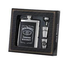 Jack Daniel's 6 oz. Flask 2 Shots and Funnel Gift Set