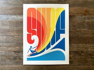 Surf Mavericks Poster