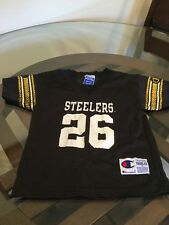Pittsburgh Steelers Rod Woodson Black Toddler Champion Jersey 4T