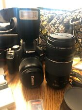 Canon Rebel T1i EOS 500D With Lots Of Accessories & Lenses Vera Bradley Bag