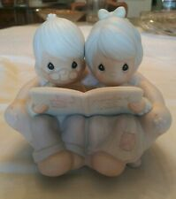Vintage Precious Moments Memories of Our Wedding 1987 #106763 Couple Figure