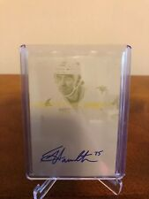 2013-14 Freddie Hamilton One Of One 1/1 Auto National Treasures Printing Plate