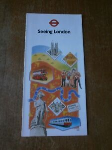 London Transport Underground+Bus Tourist Brochure With Maps 1991