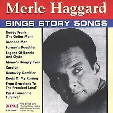 Sings Story Songs by Merle Haggard (CD, 1996, King)