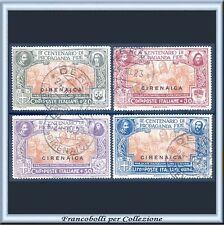1923 Colonie Italiane Cirenaica Serie Propaganda FIDE n. 1/4 Usati