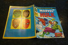 Mighty World of MARVEL Starring the INCREDIBLE HULK - No 154 - Date 13/09/1975
