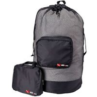 Scuba Dive Snorkeling Retractable Mesh Gear Bag Backpack