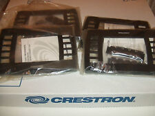 CRESTRON 1700C-BTNB-BEZELS TOUCHPANEL FACEPLATE BEZEL BUTTONS BLACK st-1700c NEW