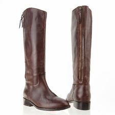 Cole Haan Arlington Women's Shoes Brown Leather Riding Boots Sz 5 M NEW $398