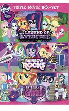 My Little Pony Equestria Girls Everfree Rainbow Rocks Friendship. NEW SEALED DVD