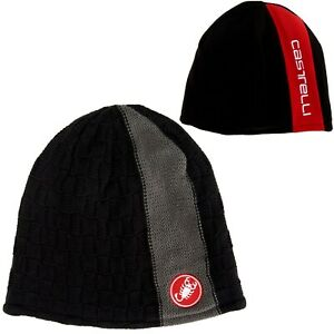 CASTELLI Beanie/Stocking Hat/Cap Bicycle/Cycling NEW O/S Black