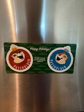 Disney Season Passholder Christmas Chip And Dale Magnet Limited