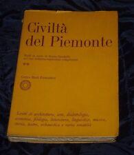 Civiltà del Piemonte / Centro Studi Piemontesi Architettura Arte.. 881 pp Libro