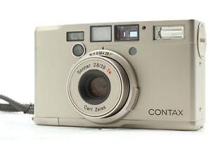 [Exc+5 w/ Strap] Contax Tix Carl Zeiss Sonnar T* 28mm f2.8 APS Film Camera Japan